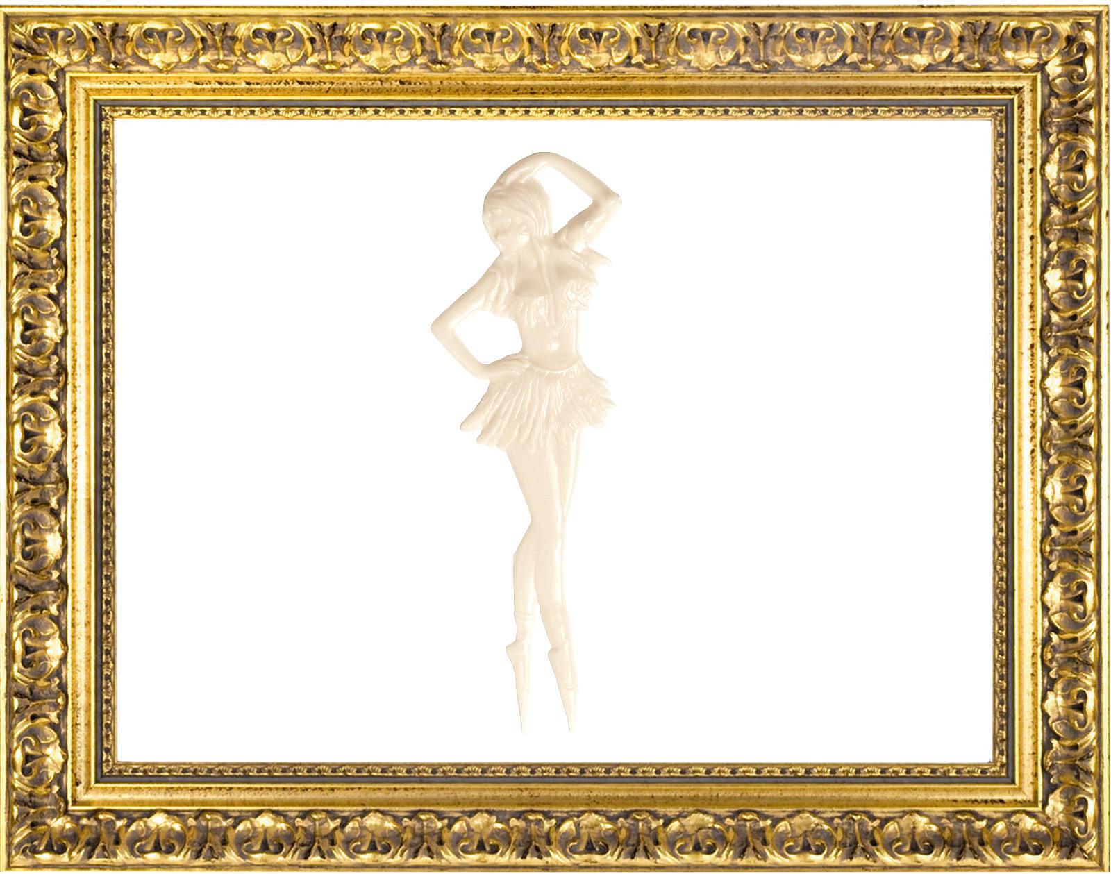 Ballerina stilizzata